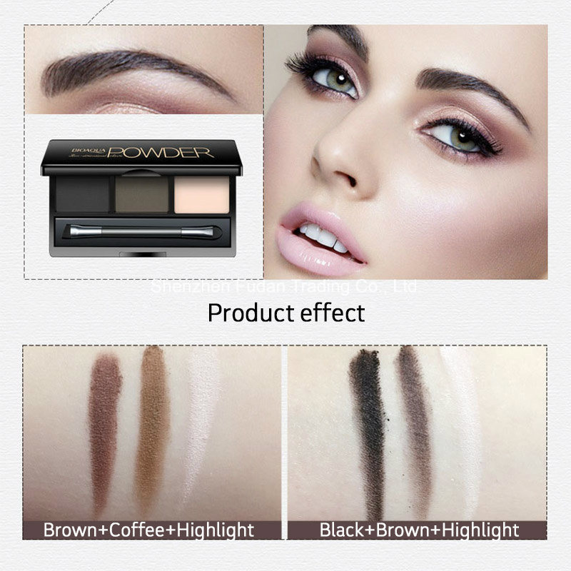 Cosmetics Eye Shadow Powder 3 Color Eyeshadow Palette