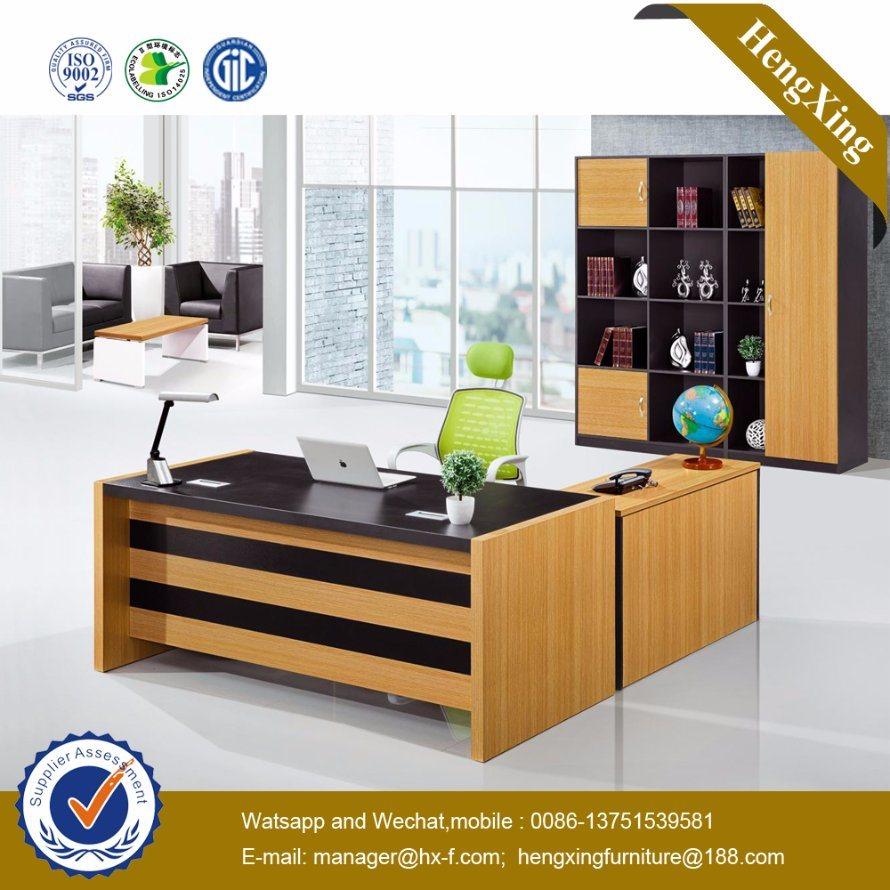 Oak Color Executive Office Table Modern Office Furniture (HX-GD039)