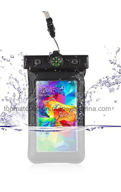 Hot Sale Leather Phone Bag&Case Waterproof Mobile Case Customized Waterproof Phone Bag