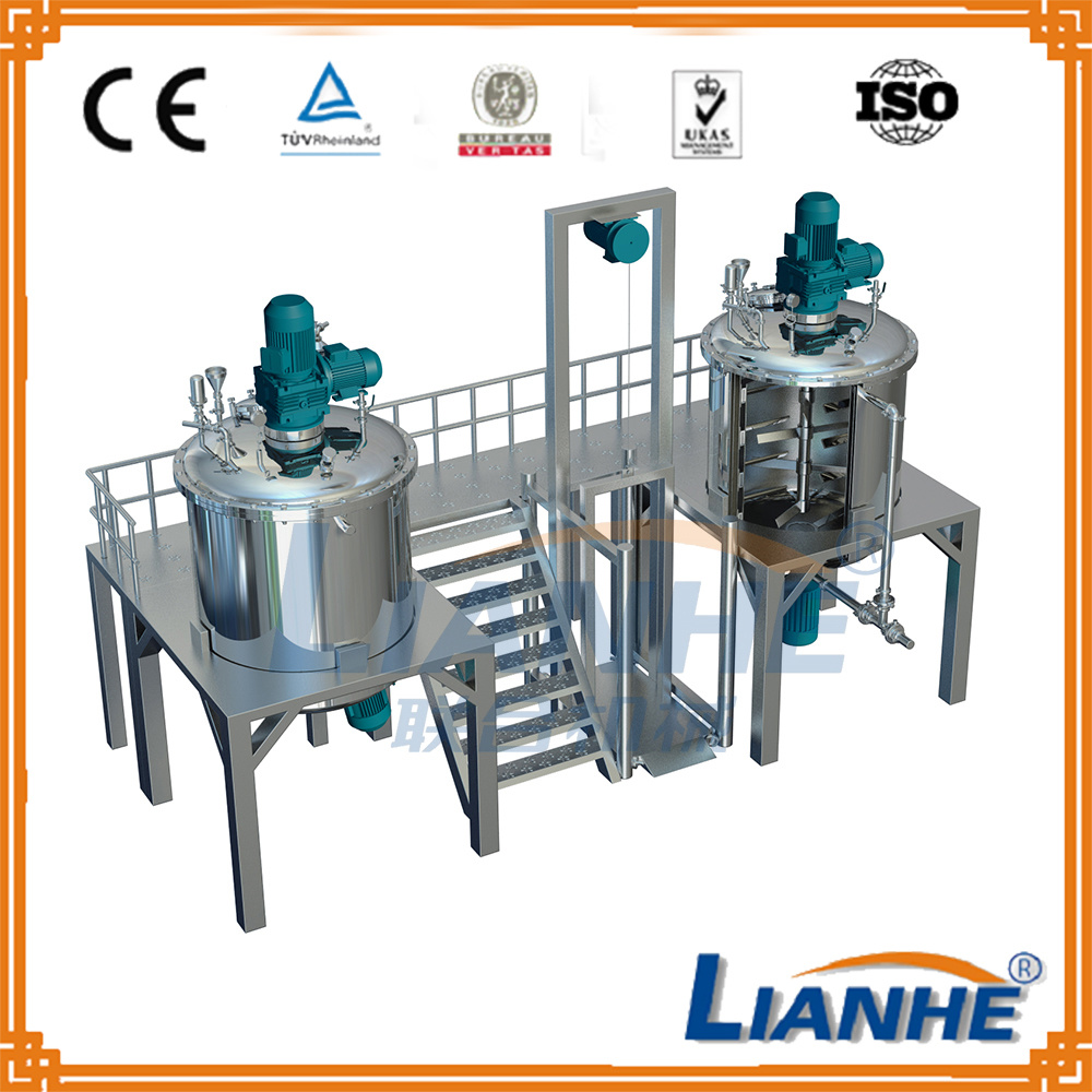 Ce Proved Liquid Soap and Shampoo Making Mixing Machine