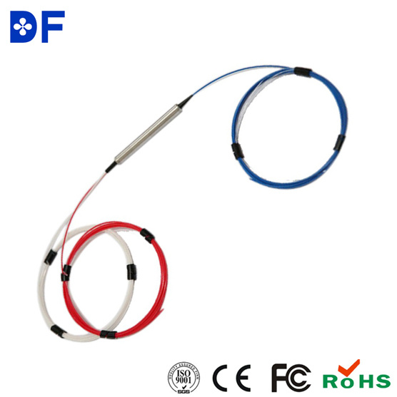 Low Insertion Loss 3 Ports Optical Circulator Fiber Optical Circulator