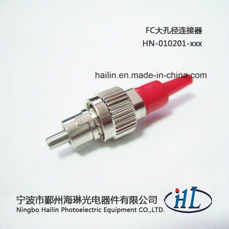 High Power Metal Ferrule FC Fiber Optic Connectors with 127um