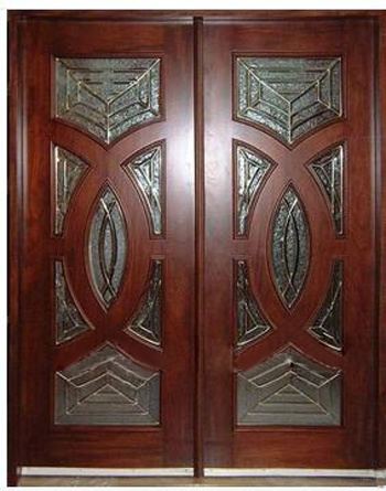 Hot Selling American Countryside Double Wooden Door
