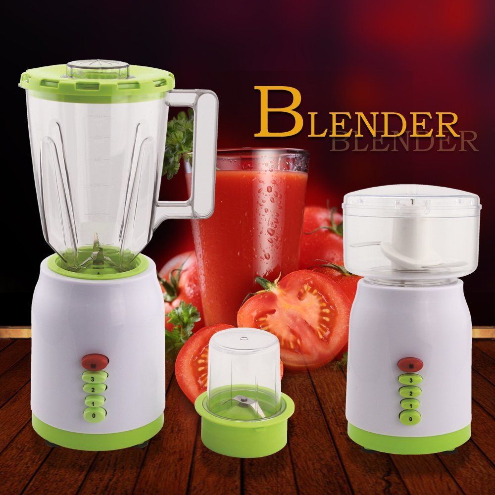 2017 New Design 3 Speed CB-B888 Plastic 3 in 1 Electric Blender