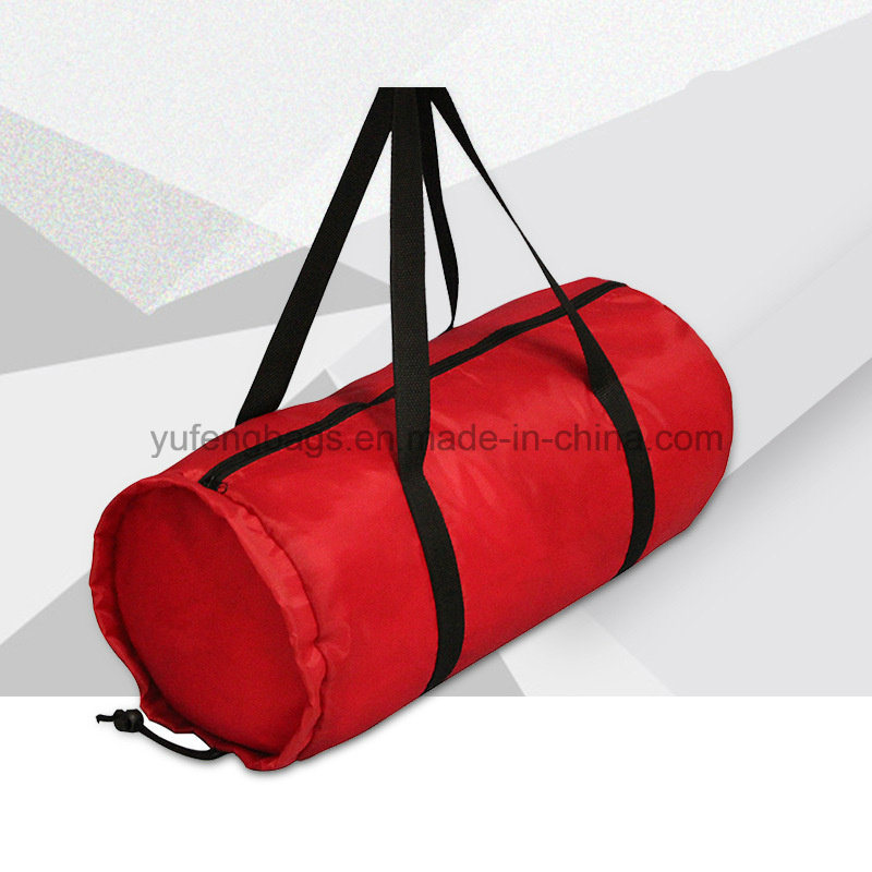 Folding Large Capacity Polyester Travel Hand Bag Custom Logo