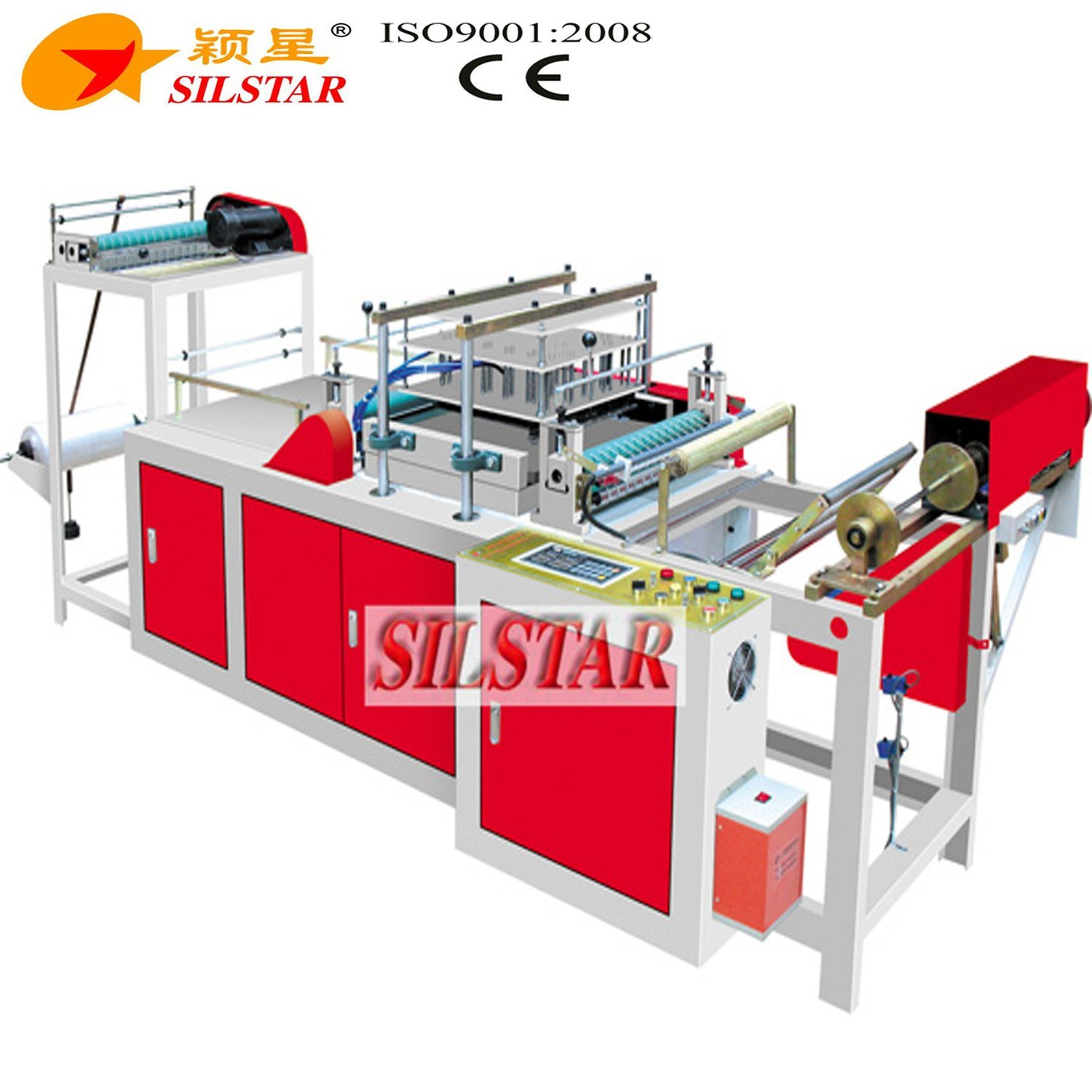Plastic Rolling Apron Making Machine
