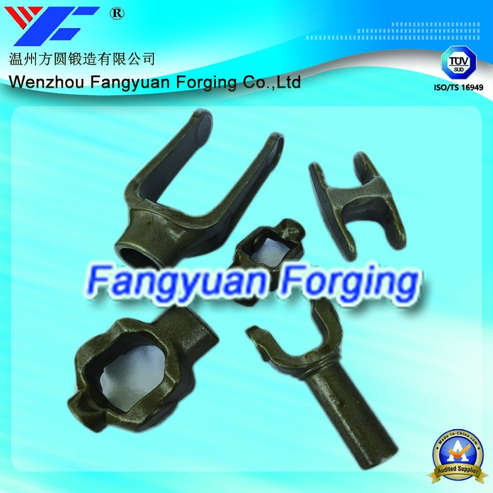 High Quality Hot Forged Transmission Shaft Fork for Auto Parts