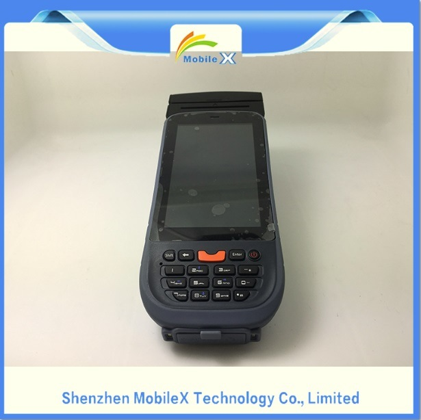 Android OS PDA with Printer, Mobile Data Collector, Barcode Scanner