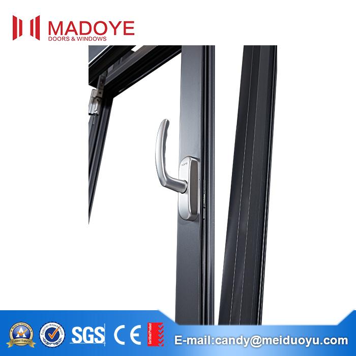 Guangzhou Top Quality Aluminium Thermal Break Glass Window
