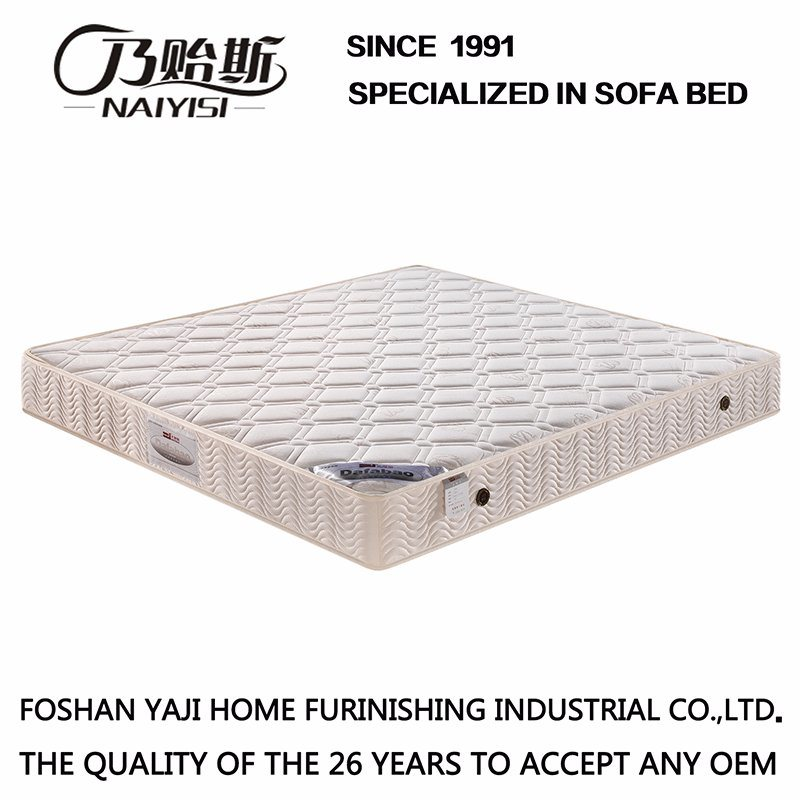 Compressed Spring Mattress with Natural Latex Furniture /Fb701