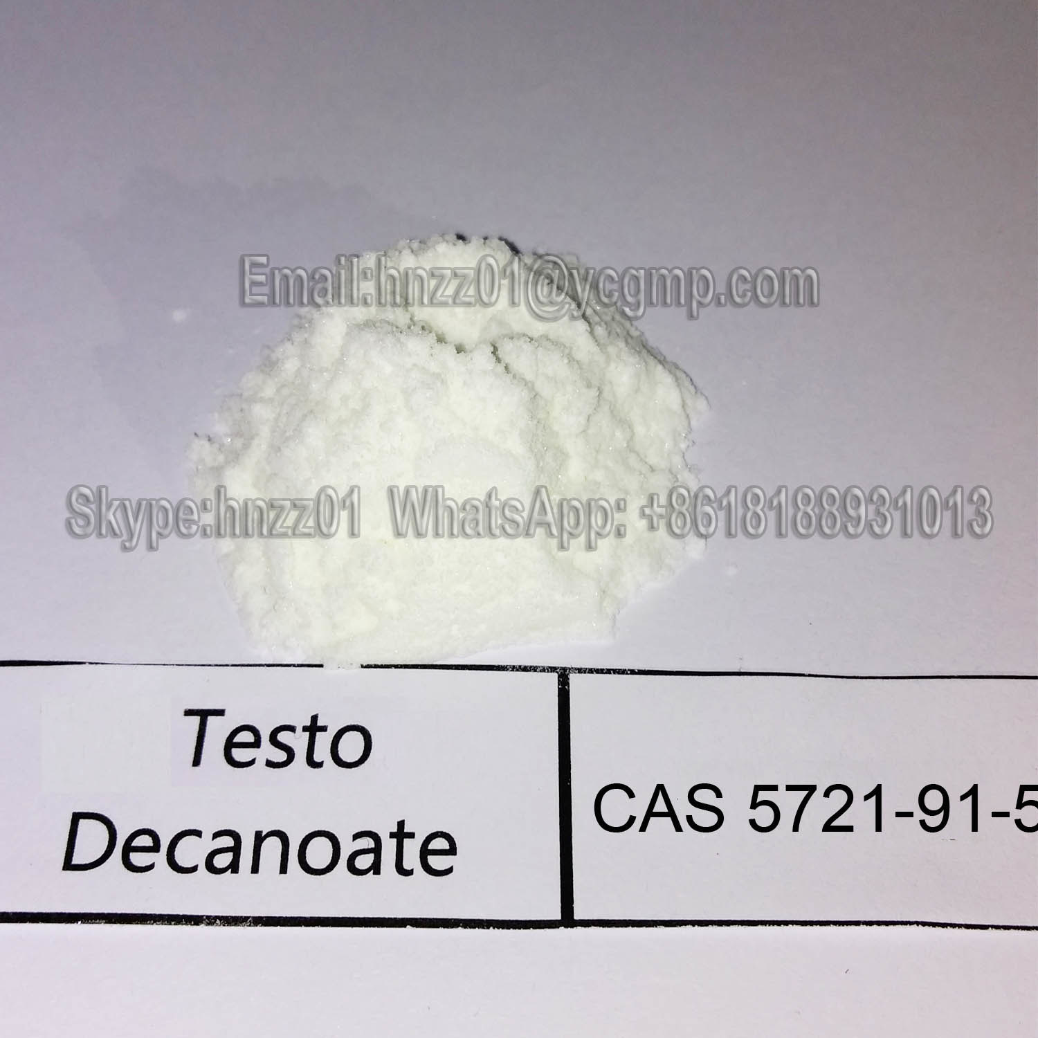 High Purity Muscle Gain Steroid Powder Testosteron Decanoate Test Deca