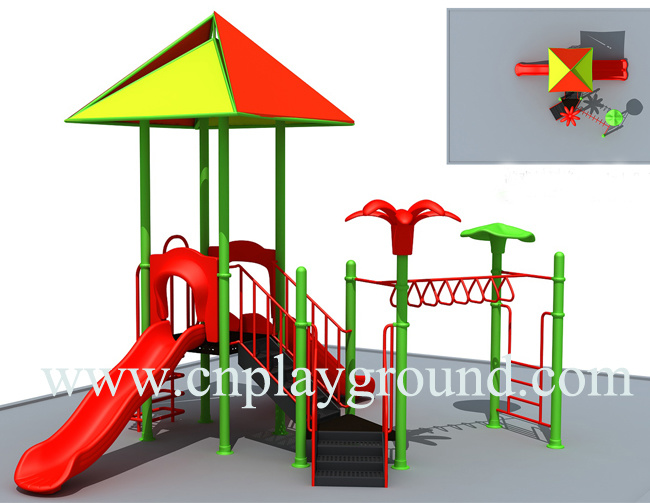 2017 Newest Design Small Playground Equipment Cheap Water Playground for Amusement Park (HF-001)