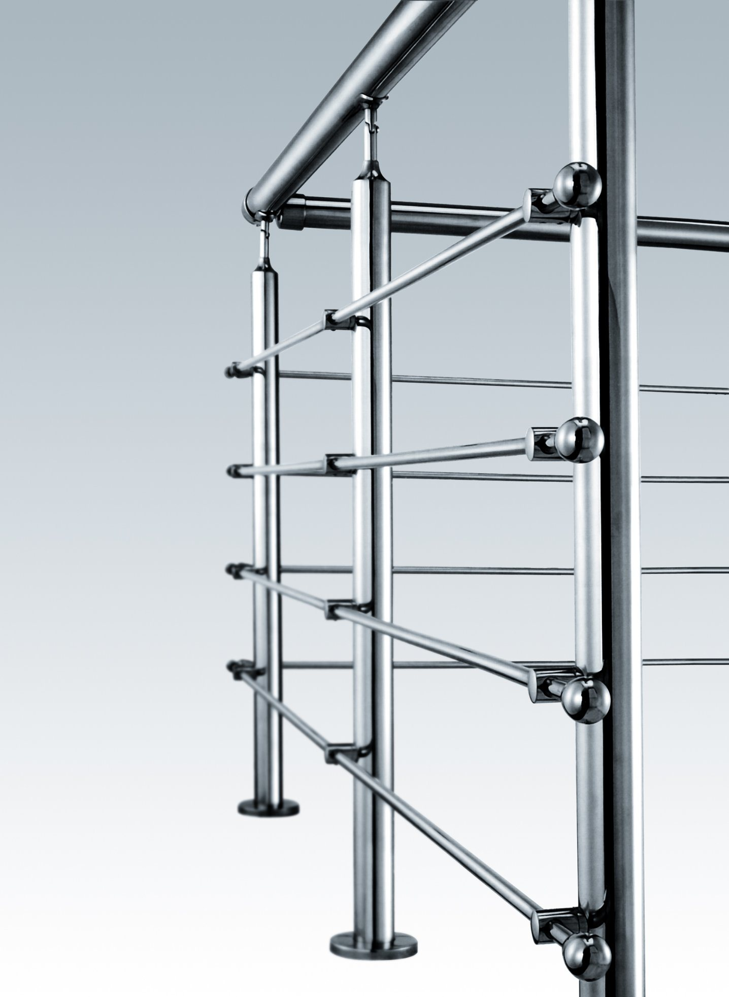Stainless Handrail Fittings Railing for Shell Cover