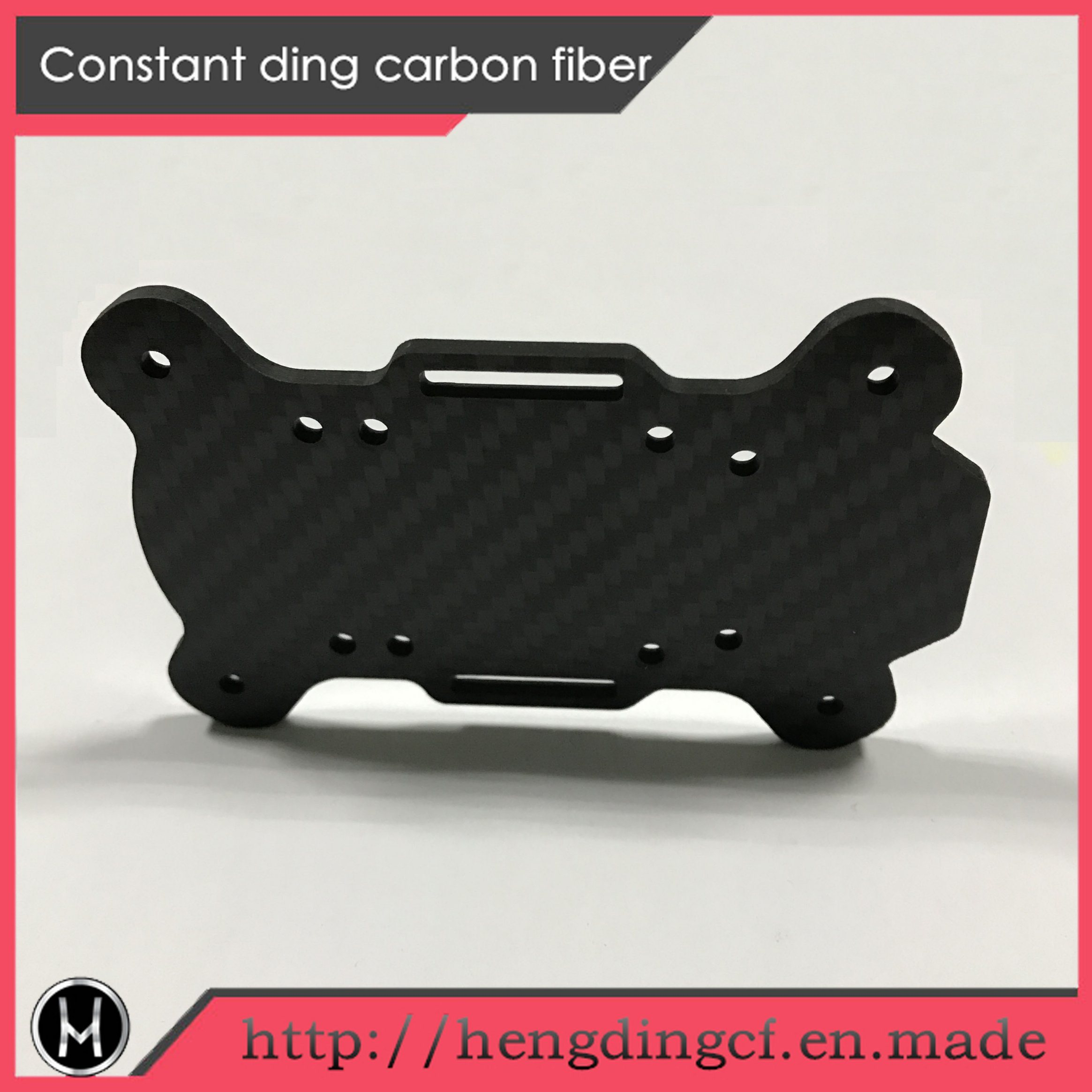 Different Colors /Thickness Custom Made Carbon Fiber Panel Used in Uav