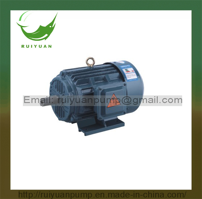 Y2 Series 6 Poles 7.5kw 10HP 3 Phase Iron Cast Copper Wire AC Electric Motor (Y2-160M-6)