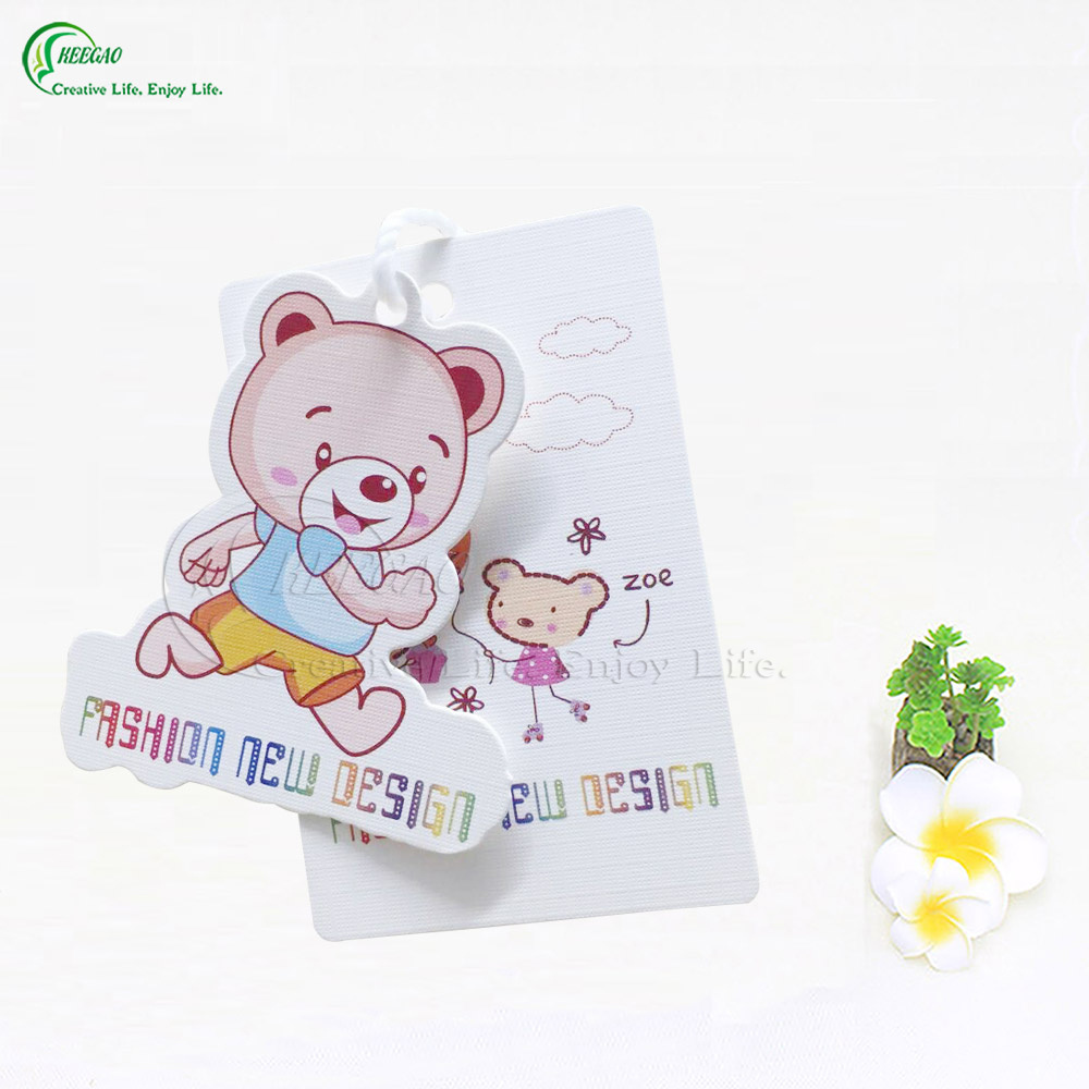 2017 Printed Tags for Children Clothing (KG-PA023)