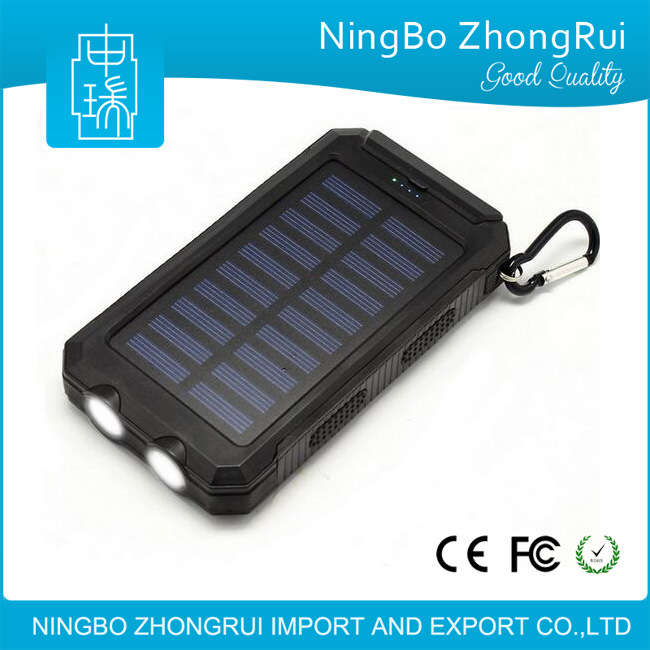 Best Sale Mobile Phone Charger Portable Universal Solar Power Bank 8000mAh 1000mAh