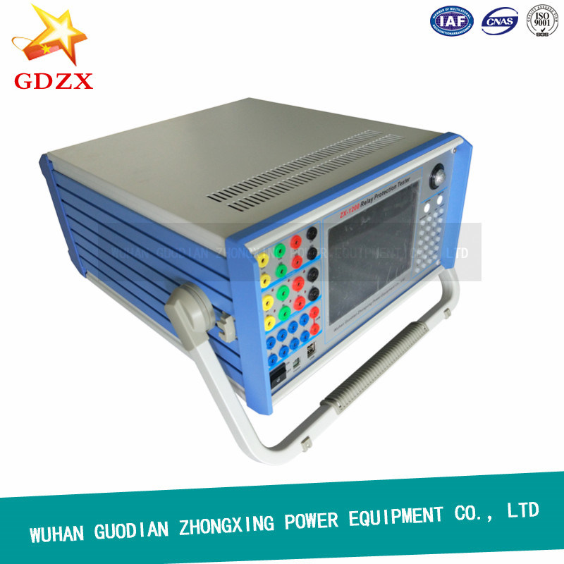 China Six Phase 30A Relay Protection Tester