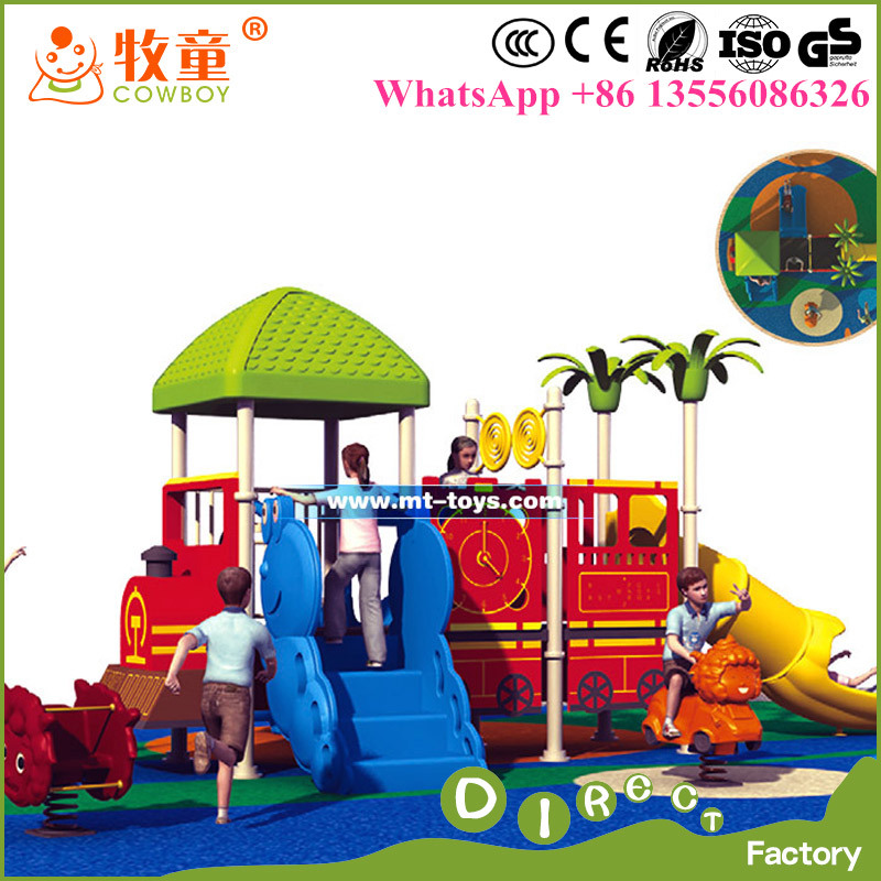 china cheap small plastic outdoor playsets for sale