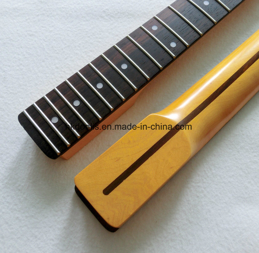 Nitro Finished Rosewood Fingerboard Canadian Maple Tele Neck Guitar