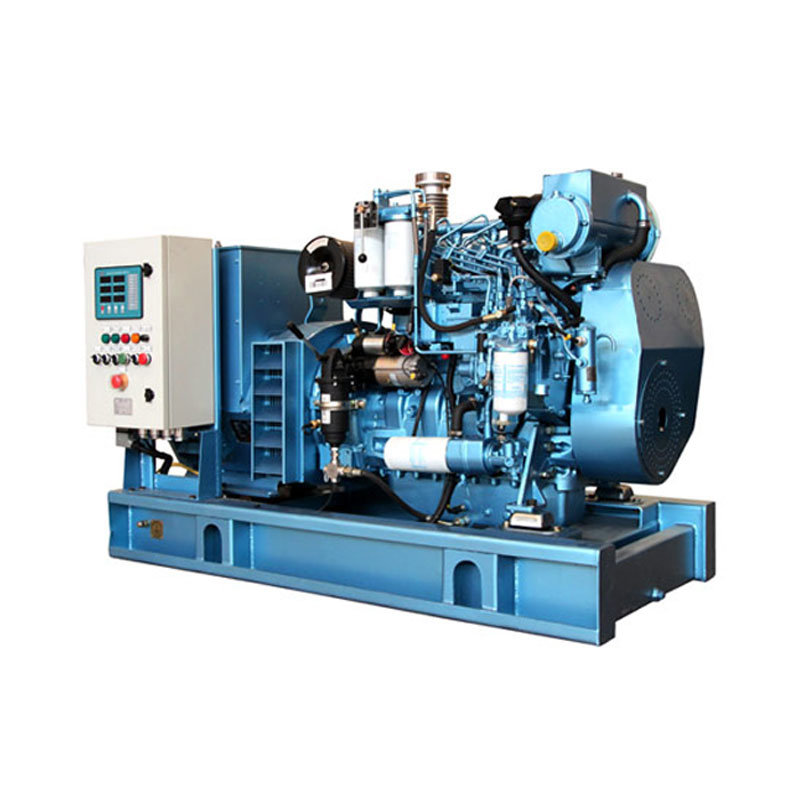120kw Electric Start, Water Cooled Generator Set for Marine