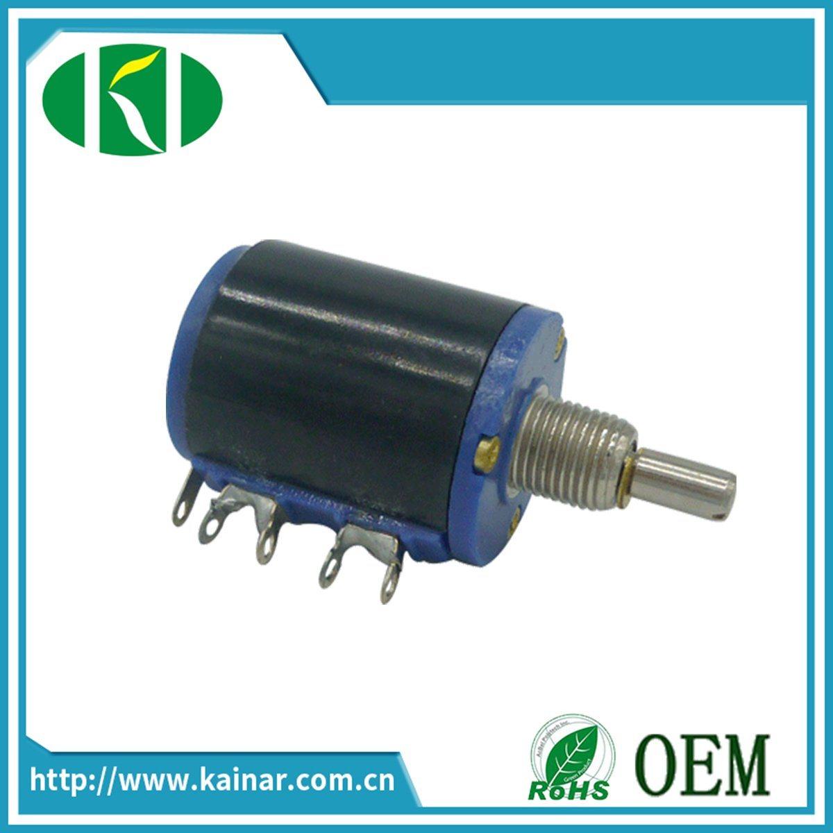 Wxd3-12 5 Turns Precision Wirewound Potentiometer