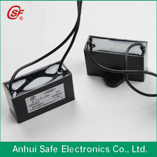 100UF Fan Aluminum Electrolytic Capacitor