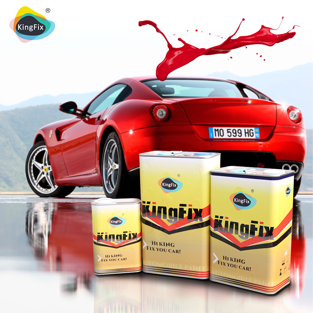 High Hiding Power Spray Auto Refinish Paint 2k Clearcoat for Car