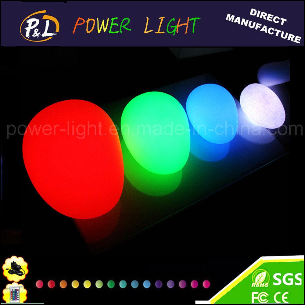 Color Changing Garden Decor Solar Light LED Stone Light