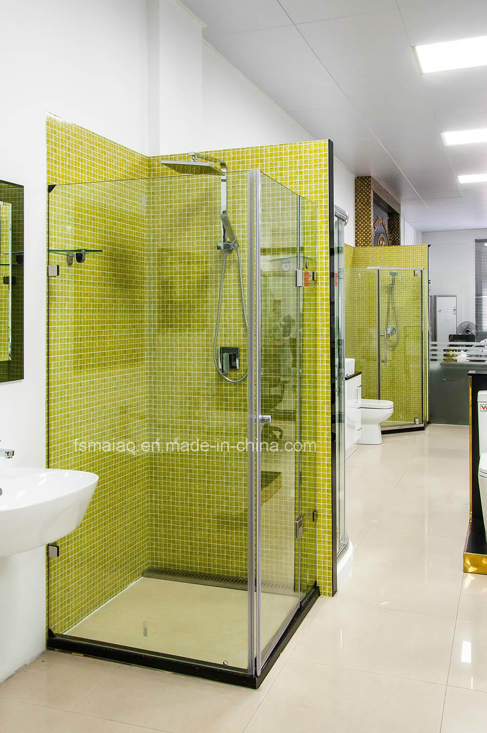 Australian Approved Supplier Frameless Shower Enclosure with Hinger (H3174)