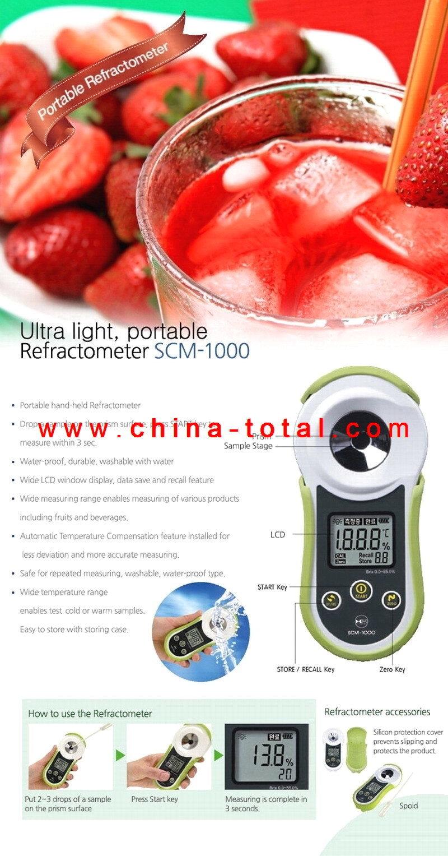 Scm-1000 Series Digital Refractometer
