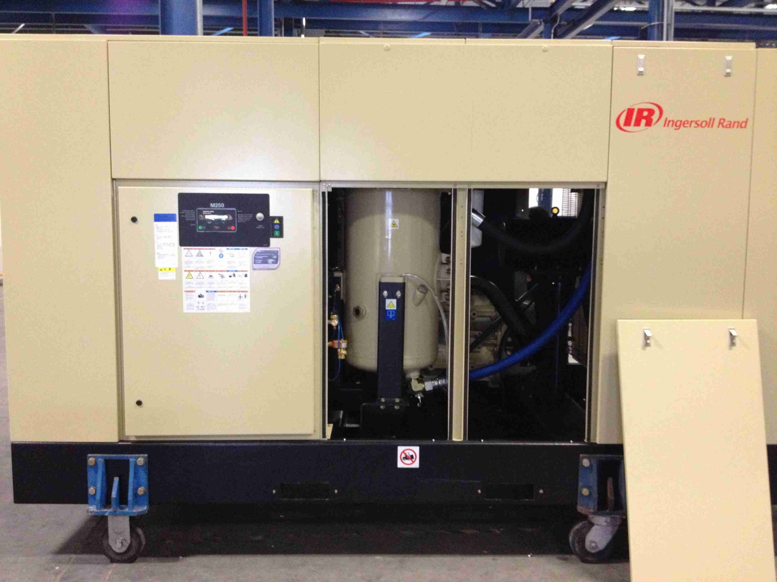 Ingersoll Rand Silent Rotary Screw Air Compressor (ML250 MM250 MH250)