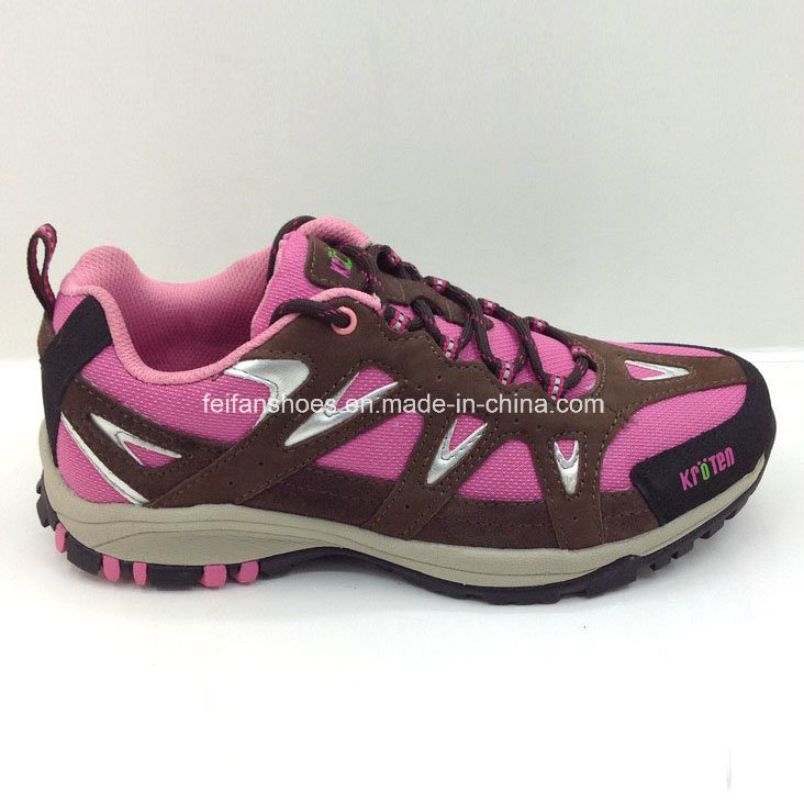 Latest Fashion Ladies Running Shoes Hiking Shoes Climbing Shoes (ws16126-11)
