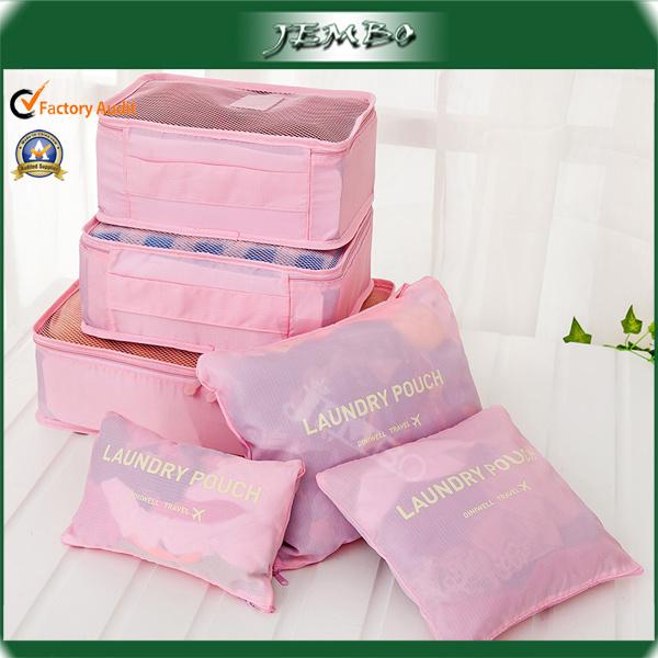 Fashion Style Portable Nylon Travel Storage Bag Organizer