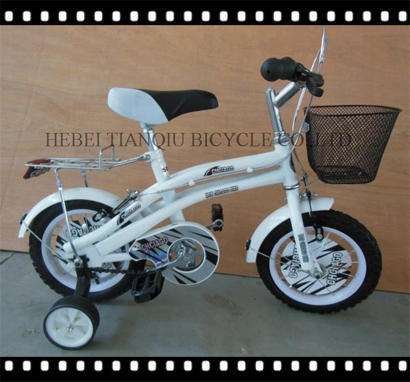 Orange Children Toys 12 Inch Kids Bike Children Bicycle with training Wheel