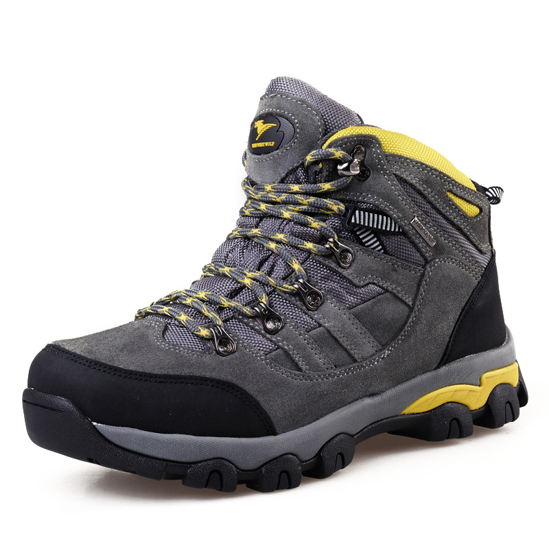 Trekking Shoes Outdoor Mountain Safety Climbing for Men (AK8910)