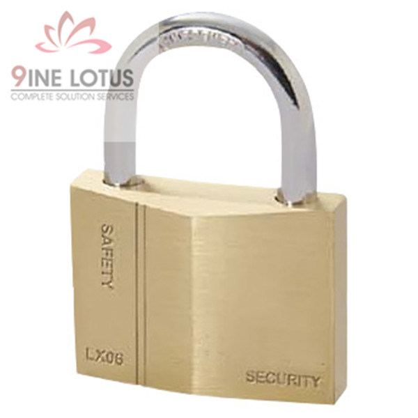 High Quality Diamond Brass Padlock