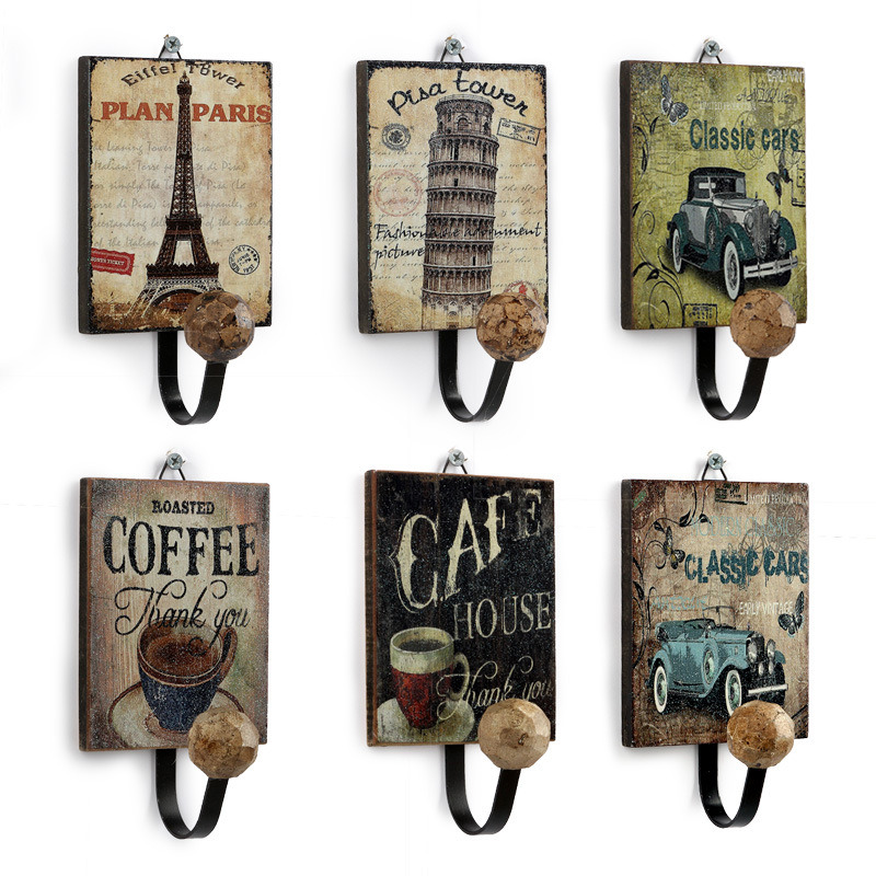 Metal Wall Hooks & Antique Wall Coat Hook