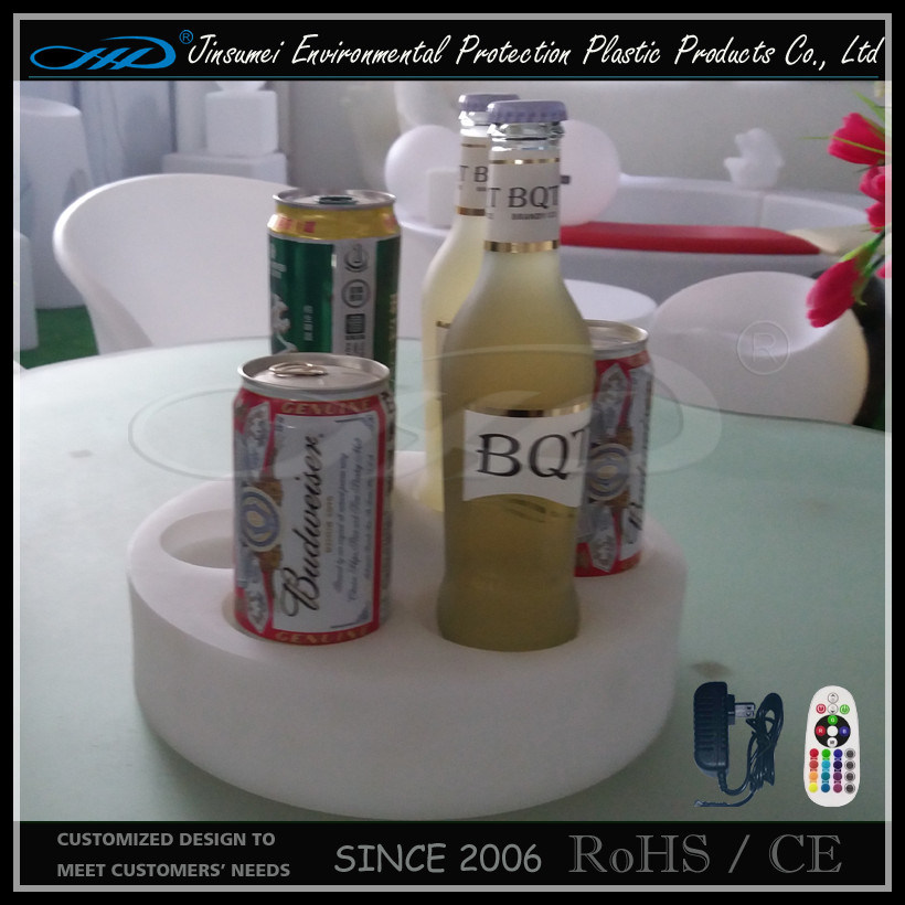 Beer display Holder with PE Material LED Light