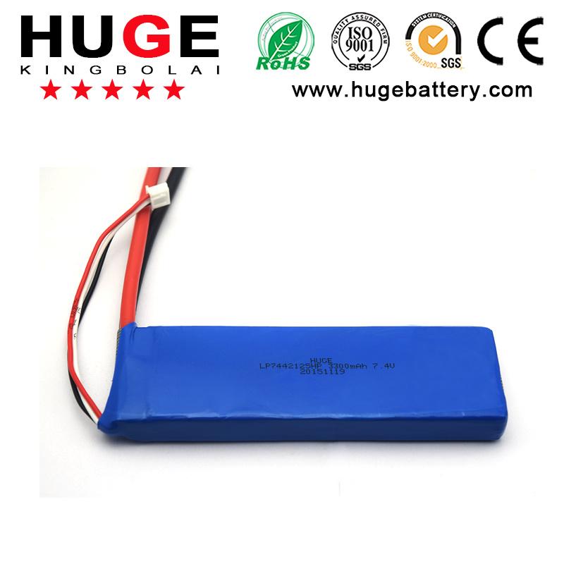 3.7V Li-Polymer Battery & Rechargeable Battery Back