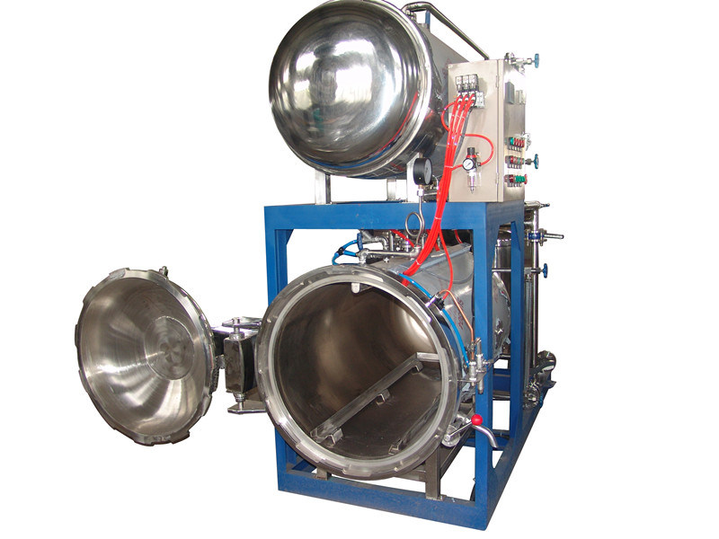 Automatic Steam Heating Food Retort Autoclave