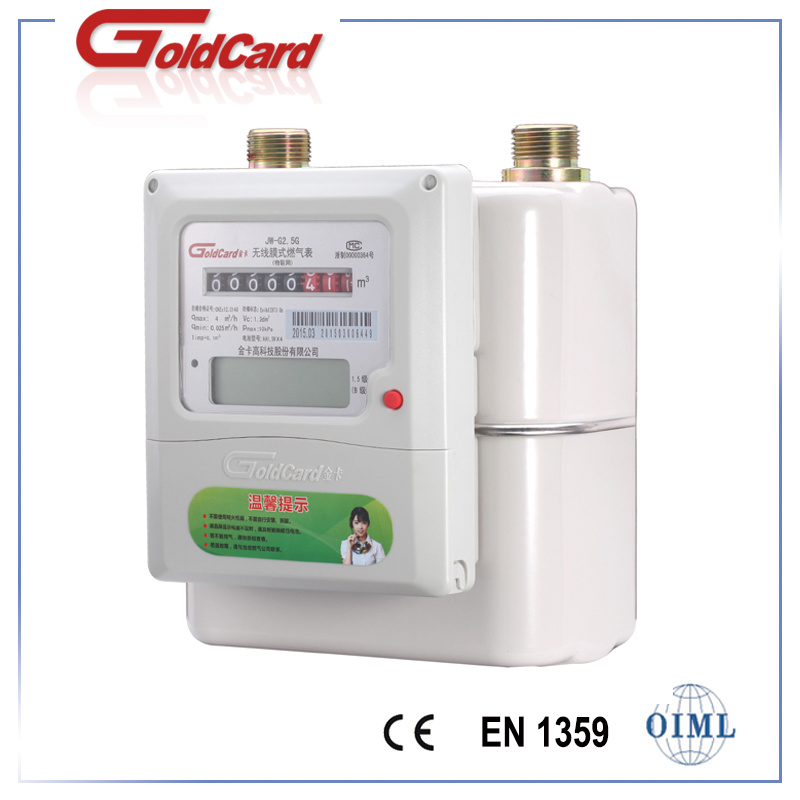 Domestic Iot Smart Gas Meter-Steel G1.6/2.5 Prepayment