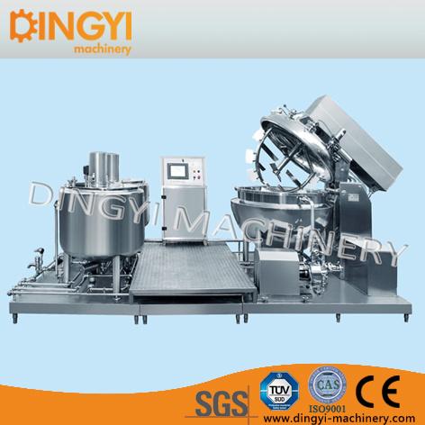 Horizontal Type Vacuum Emulsifying Mixer