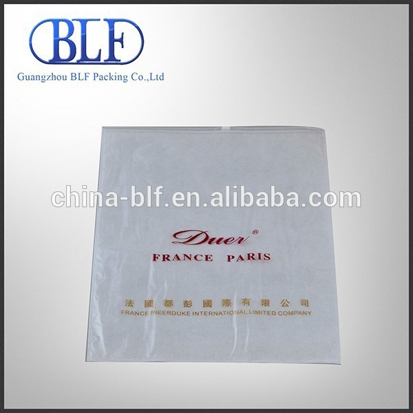 Non Woven & Plastic T-Shirt Bag with Zipper (BLF-NW031)