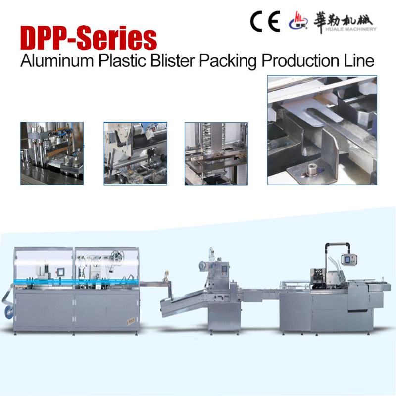 Dkz Series Pharmaceutical Medicine Aluminum Plastic Blister Packing Line
