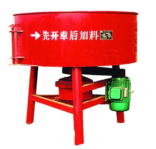 Shengya Brand Jq500 Large Pan Twinshaft Paddle Concrete/Cement Mixer for Construction Material