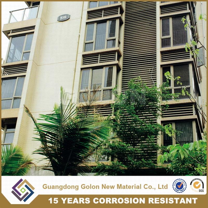 Corrosion Resistance Iron Window Louver