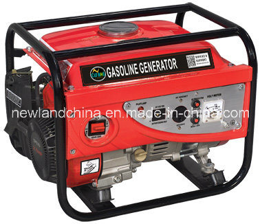 2.5HP/154f Engine 1kw Gasoline Generator Set for Home Use (2200A)