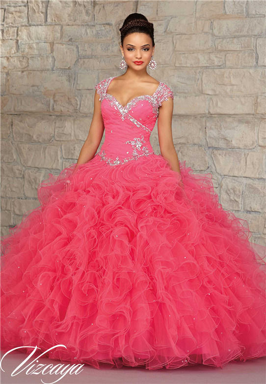 2016 Ball Gown Prom Fashion Party Dresses, Customized