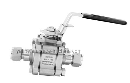 3-Piece High Pressure Applications Ball Valves